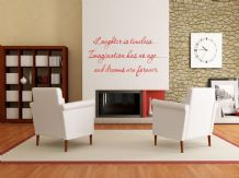 Laughter is timeless Wall Sticker, Vinyl Transfer, Decal Modern Wall Art